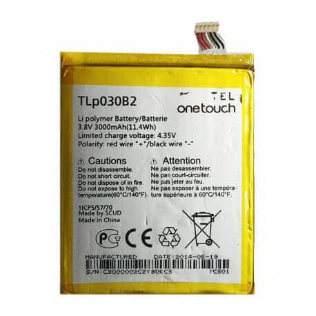 Μπαταρία Alcatel TLp030B2 για One Touch Pop S7 OT-7045Y Original Bulk