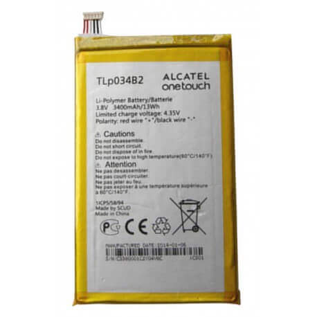Μπαταρία Alcatel TLp034B2 για One Touch Pop S9 OT-7050Y Original Bulk
