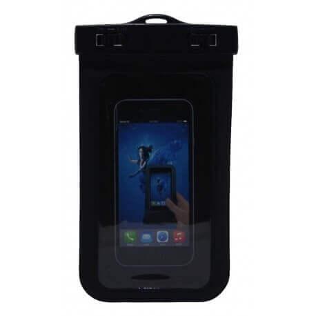 Θήκη Αδιάβροχη Ancus για iPhone 6 Plus/Note 4/Note 5 και Ηλεκτρονικών Συσκευών Μαύρη