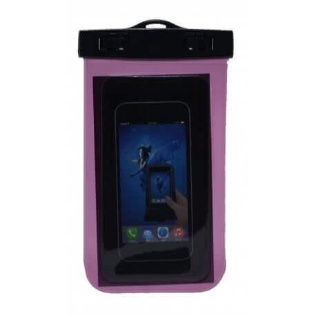 Θήκη Αδιάβροχη Ancus για iPhone 6 Plus/Note 4/Note 5 και Ηλεκτρονικών Συσκευών Ρόζ