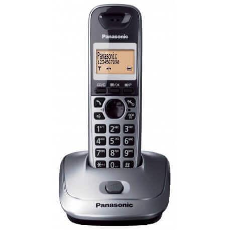 Ασύρματο Ψηφιακό Τηλέφωνο Panasonic KX-TG2511 Ασημί