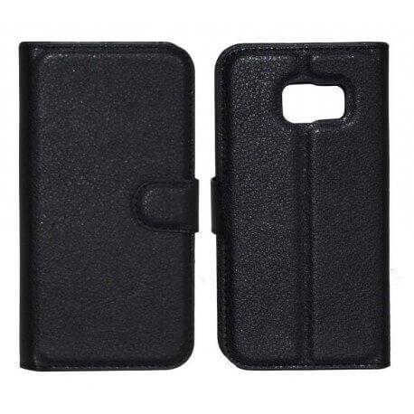 Θήκη Book Ancus Teneo TPU για Samsung SM-G925F Galaxy S6 Edge Μαύρη