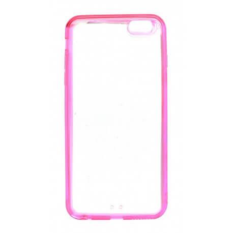 Θήκη Ultra Thin Ancus Invisible για Apple iPhone 6 Plus/6S Plus Ρόζ