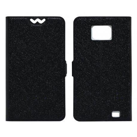Θήκη Book Ancus για Samsung i9100 Galaxy S II Μαύρη