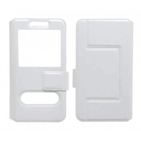 """Θήκη Book S-View Ancus Stick it Universal για Smartphone 4.0"""" - 4.5"""" Λευκή"""