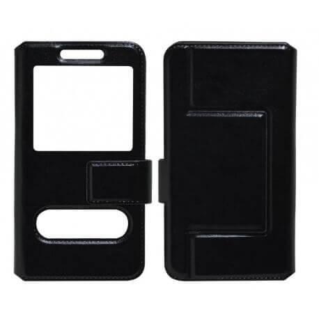 """Θήκη Book S-View Ancus Stick it Universal για Smartphone 4.0"""" - 4.5"""" Μαύρη"""
