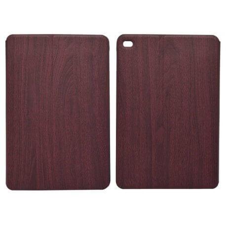 Θήκη Book Ancus Wood για Apple iPad Mini 4 Κόκκινη