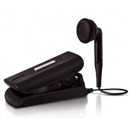 Bluetooth Hands Free Vieox Venturer V300 με Πλακέ Καλώδιο και Buzzer Μαύρο