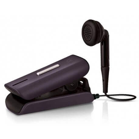 Bluetooth Hands Free Vieox Venturer V300 με Πλακέ Καλώδιο και Buzzer Γκρί