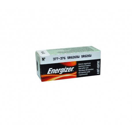 Buttoncell Energizer 377-376 SR626SW SR626W Τεμ. 1