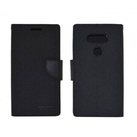 Θήκη Book Goospery Canvas Diary για LG G5 H850 Μαύρη by Mercury