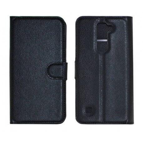 Θήκη Book Ancus Teneo για LG K7 X210 TPU Μαύρη