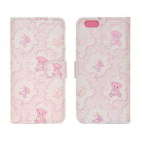 Θήκη Book Ancus Art Collection για Apple iPhone 6/6S Teddy Bear