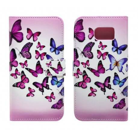 Θήκη Book Ancus Art Collection για Samsung SM-G920 Galaxy S6 Butterfly