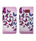 Θήκη Book Ancus Art Collection για Samsung SM-G920 Galaxy S6 Butterfly