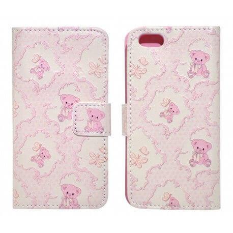 Θήκη Book Ancus Art Collection για Apple iPhone SE/5/5S Teddy Bear