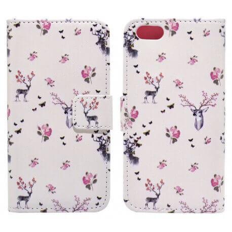 Θήκη Book Ancus Art Collection για Apple iPhone SE/5/5S Flower