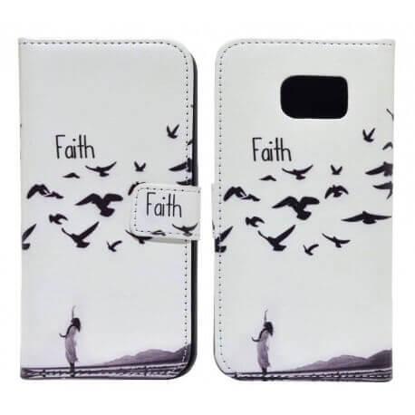 Θήκη Book Ancus Art Collection για Samsung SM-G920 Galaxy S6 Faith
