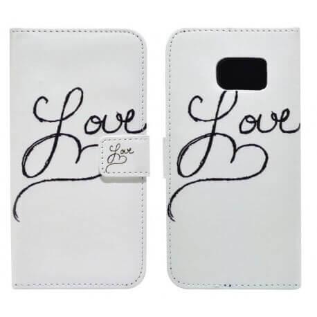 Θήκη Book Ancus Art Collection για Samsung SM-G925 Galaxy S6 Edge Love