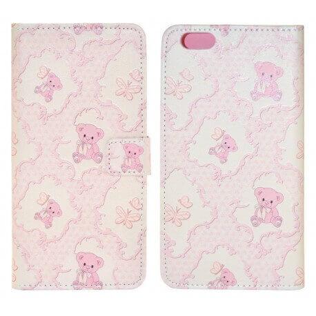 Θήκη Book Ancus Art Collection για Apple iPhone 6 Plus/6S Plus Teddy Bear