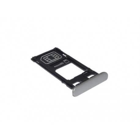 Βάση Κάρτας Sim/Μνήμης Sony Xperia X F5121 Λευκό Original 1302-4831