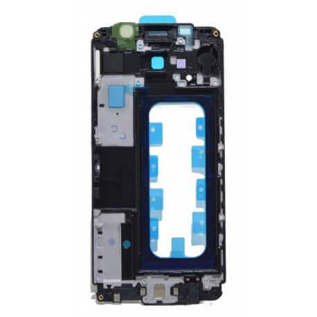 Πλαίσιο Οθόνης Samsung SM-A310F Galaxy A3 (2016) Μαύρο, Χρυσαφί Original GH98-38666B