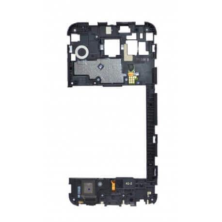 Μεσαίο Πλαίσιο LG Nexus 5X H791 με Buzzer, Κεραία και Αισθη Δακτυ Αποτυπ Μαύρο Original ACQ88433712
