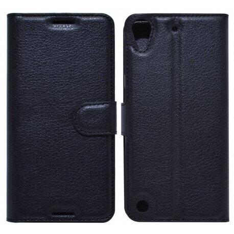 Θήκη Book Ancus Teneo για HTC Desire 530 TPU Μαύρη