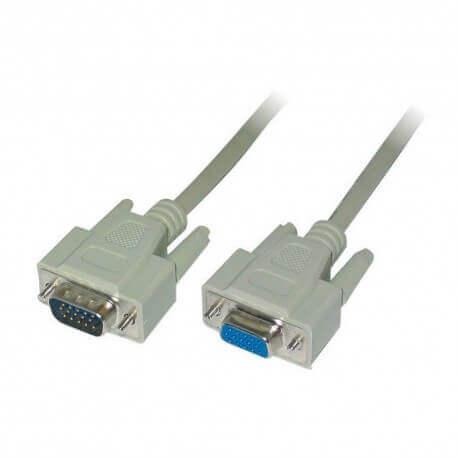 Καλώδιο σύνδεσης Jasper VGA M/F 10m