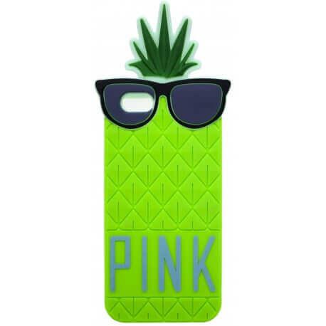 Θήκη Σιλικόνης Ancus Pineapple για Apple iPhone 6/6S Πράσινη
