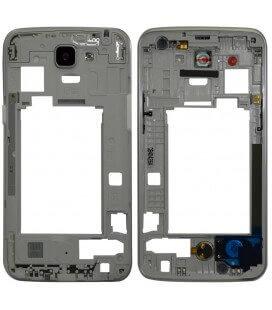 Μεσαίο Πλαίσιο LG K4 4G K120E με Buzzer, Κεραία και Τζαμάκι Κάμερας Λευκό Original ACQ88774612