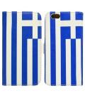 Θήκη Book Ancus Flag Collection για Apple iPhone SE/5/5S Ελλάδα