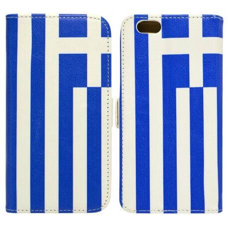 Θήκη Book Ancus Flag Collection για Apple iPhone 6/6S Ελλάδα
