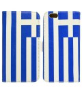 Θήκη Book Ancus Flag Collection για Apple iPhone 6/6S Ελλάδα