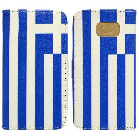Θήκη Book Ancus Flag Collection για Samsung SM-G930F Galaxy S7 Ελλάδα