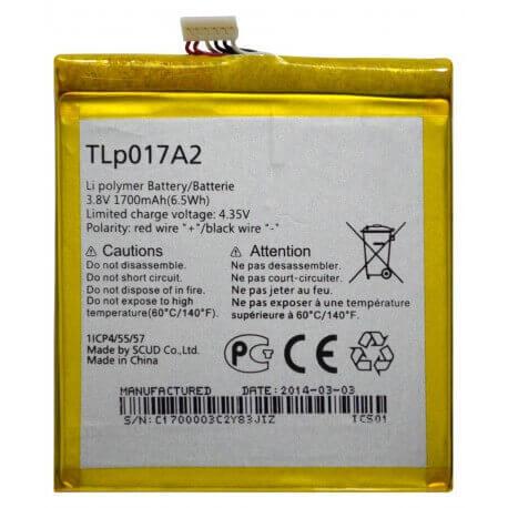 Μπαταρία TLp017A2 για Alcatel One Touch Idol Mini OT-6012D OEM Bulk